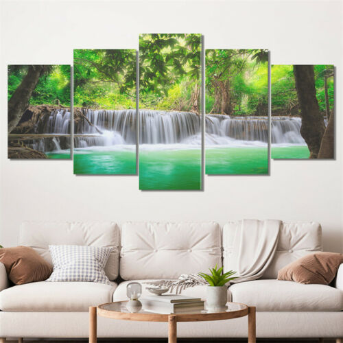 5Pcs//set Tree Painting Canvas Poster Modern Art Picture Home Wall Decor No Frame