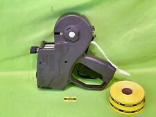 New Listingmonarch Paxar 1155 2 Line Price Tag Label Gun With Two Rolls Of Labels Works