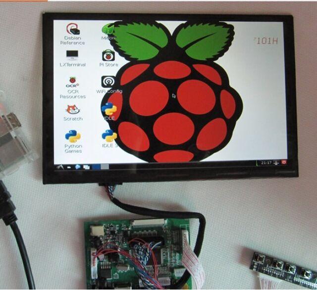 "10.1""  IPS  LCD  Display ModuleHDMI+VGA+2AV Driver Board for Raspberry Pi"