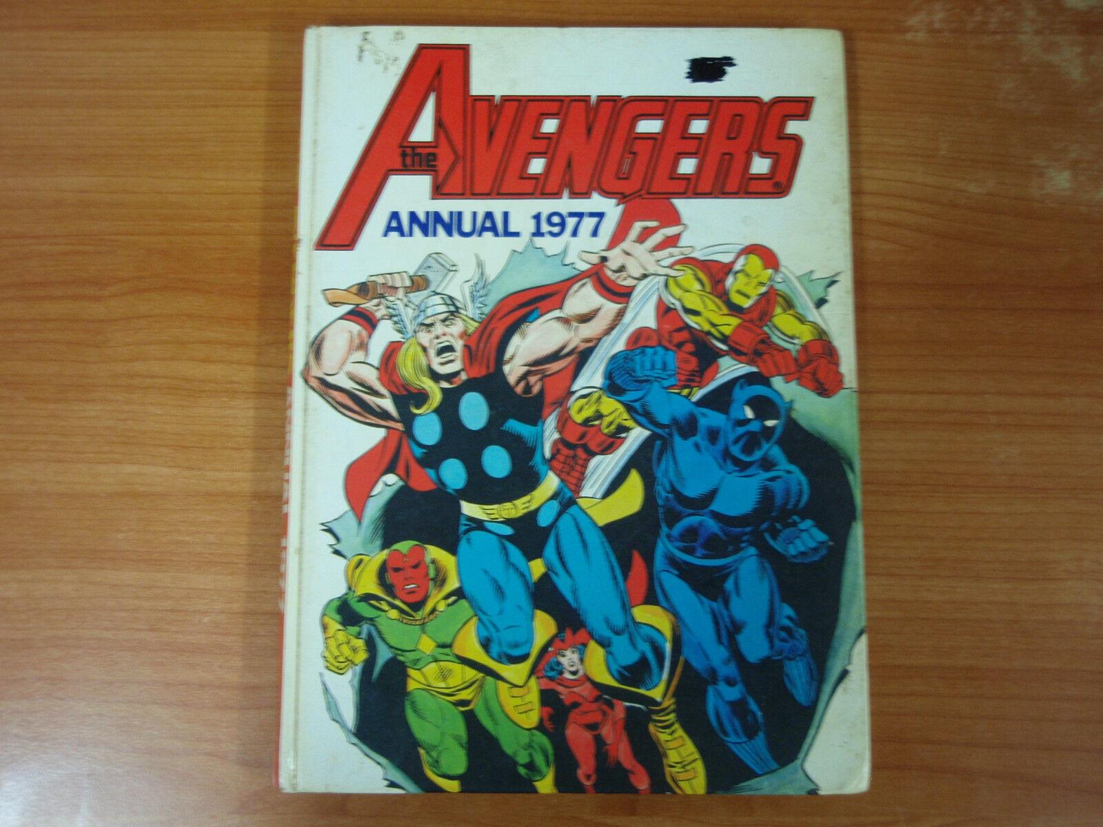 Rare 1977 Marvel Avengers Annual
