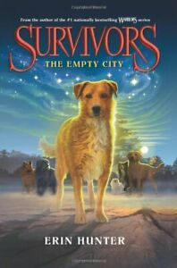 Complete-Set-Series-Lot-of-6-Survivors-books-by-Erin-Hunter-Empty-City-Darkness