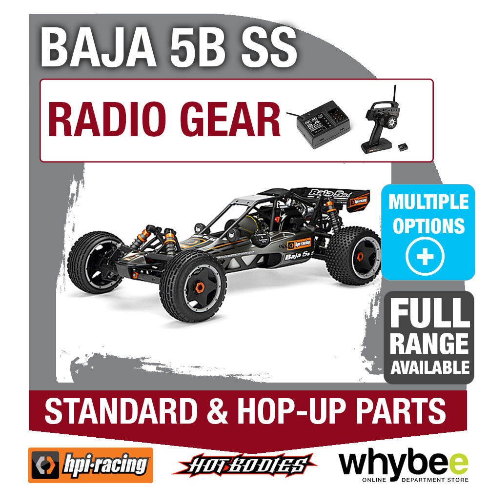 HPI BAJA 5B SS [Radio Gear] Genuine HPi Racing R C Standard & Hop-Up Parts