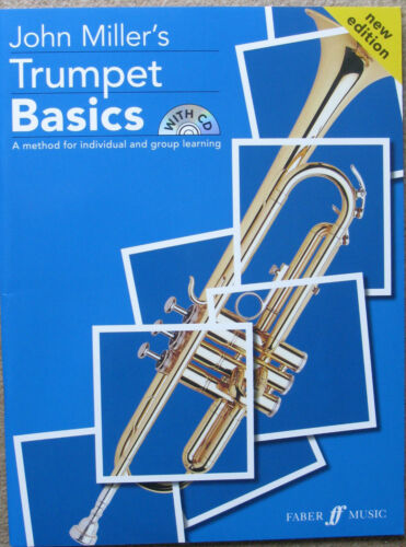 1 of 1 - Trumpet Basics by John Miller - Pupils Book with CD