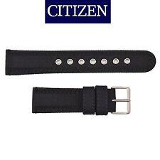 Citizen Original Eco-Drive Men's  BM8475-00F Black Canvas 20mm Watch Band Strap