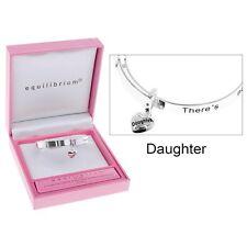 bracelet Equilibrium girls sentiment Silver Plated daughter Bangle present gift