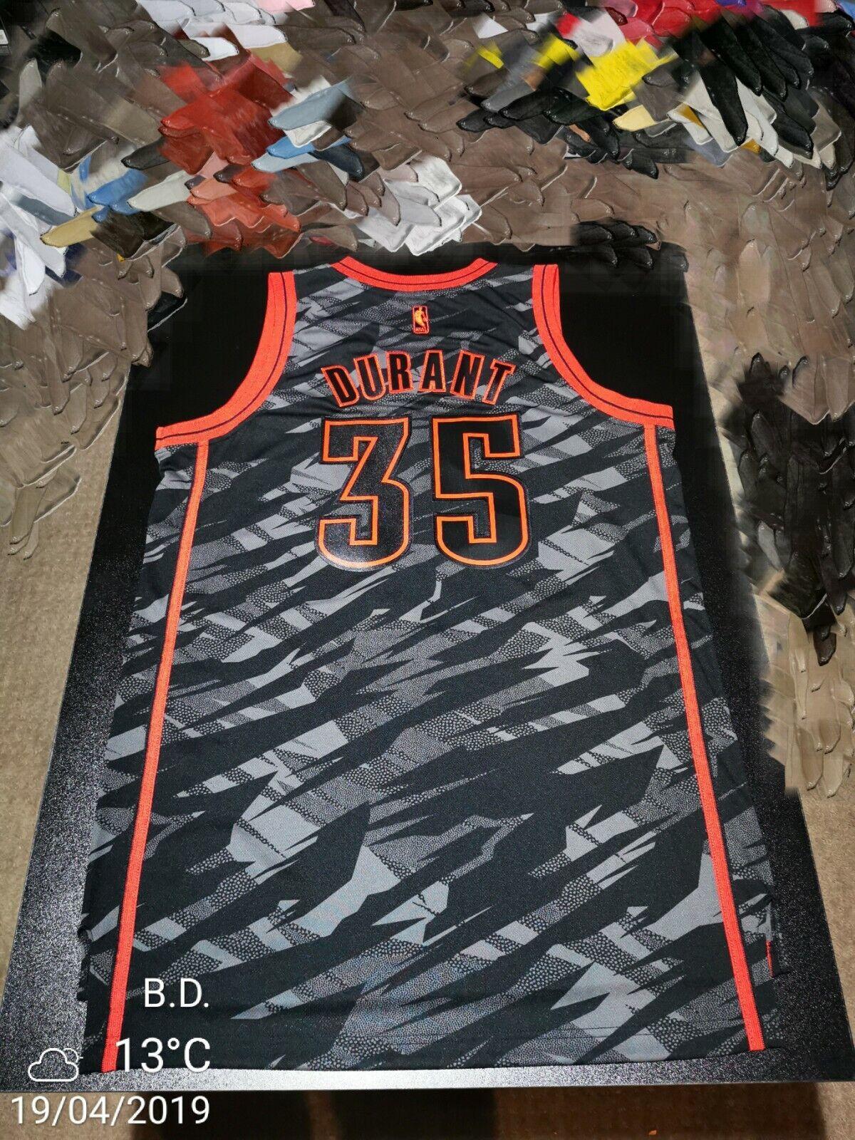 Kevin Durant Limited Edition OKC Adidas Swingman Jersey Medium