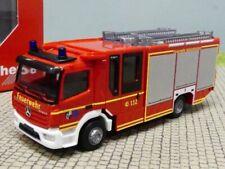 Herpa MB Atego Ziegler Z-Cabine LF 20 Feuerwehr Gelsenkirchen 095587