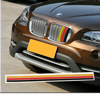 Germany Flag Stripe Car Hood Body Sticker For Audi Bmw Mercedes Mini Porsche