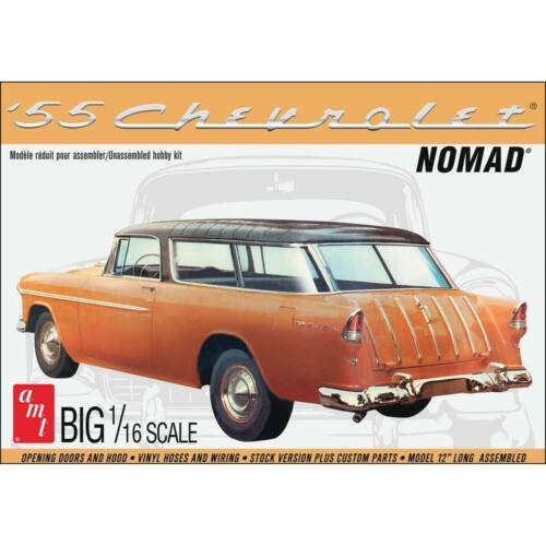 AMT ~ general hobby plastic models 1//16 1955 Chevy Nomad Wagon AMT1005