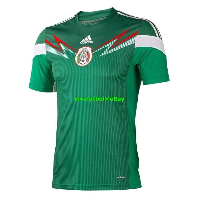 22dbdadc1 NEW Adidas Mens Seleccion Mexicana Futbol Mexico Soccer Adizero Player  Jersey XS