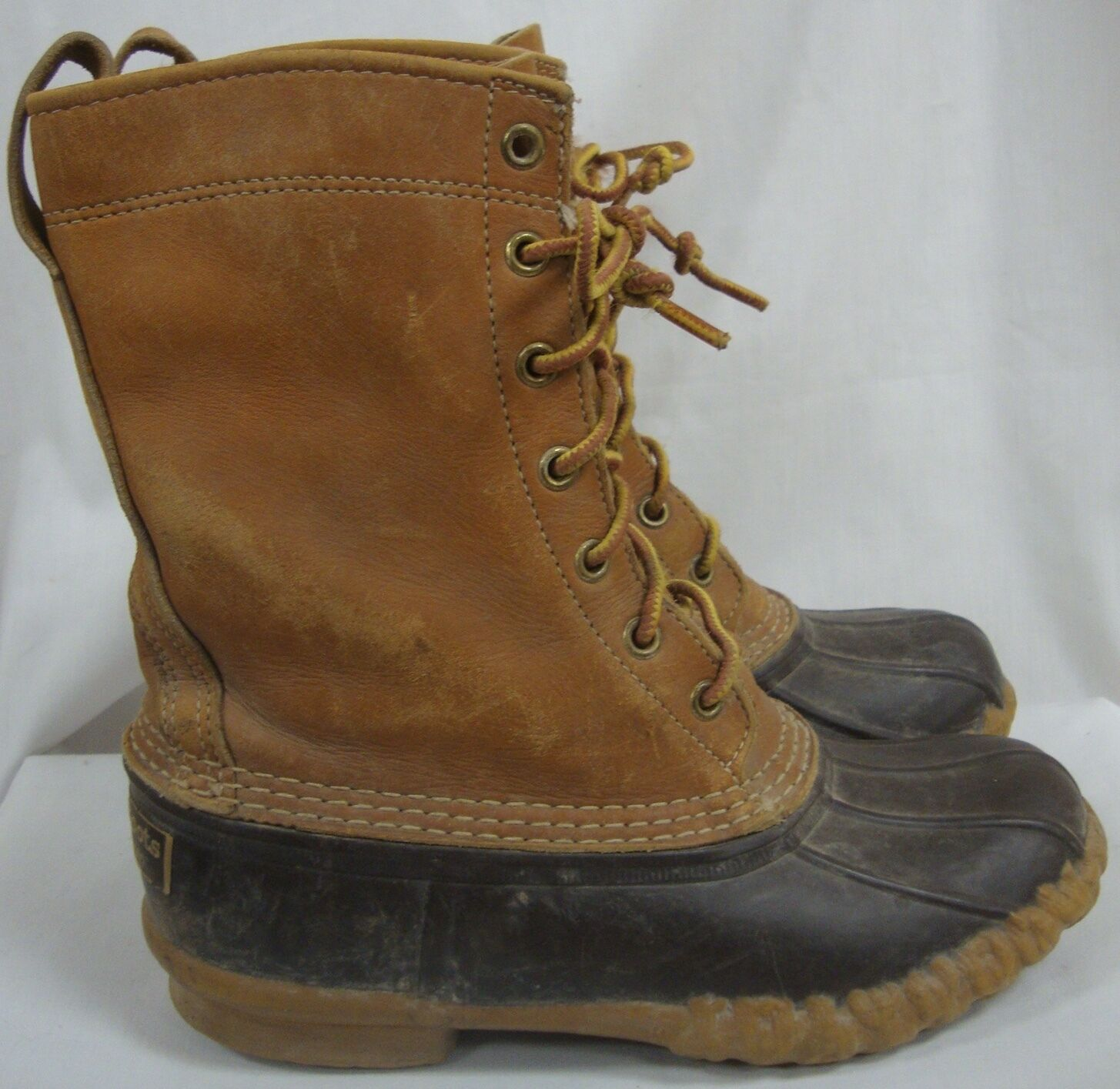 VINTAGE L L BEAN MAINE HUNTING ICONIC BEAN BOOTS Damenschuhe SIZE 6 MADE IN USA