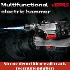 Demolition Jack Hammer Concrete Breaker 1050w Electric Hammer 4 Chisel Bit