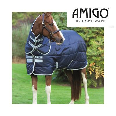 200g Stable Rug Horseware Amigo Insulator Medium Weight Rug PLUS Hood