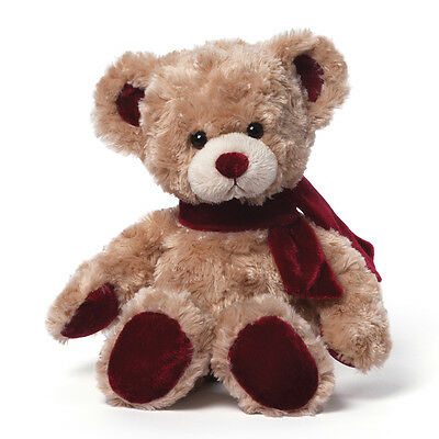 "TWO GUND - BEAR - 12""  VELVETINO - $ 30 VALUE PLUS FREE SHIPPING"