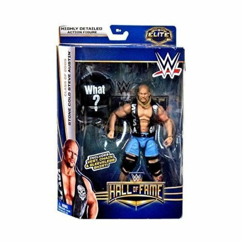 WWE MATTEL ELITE HOF HOF HOF HALL OF FAME STONE COLD STEVE AUSTIN NEW BOX WEAR 37d