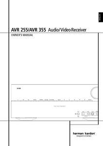 harman kardon avr 255 av receiver owners manual ebay rh ebay com Parts Manual Repair Manuals