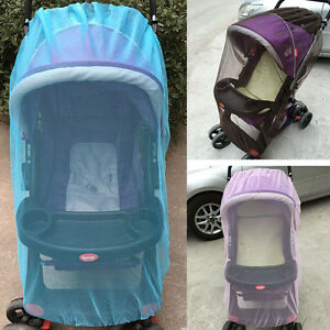 NEW-Toddler-Insect-Mosquito-Net-Pushchair-Sunshade-Tent-Refinement-Buggy-Cover