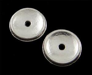 38-Metallspacer-Metallperlen-Zwischenperlen-Perlen-11mm-ALTSilber-DIY-F27