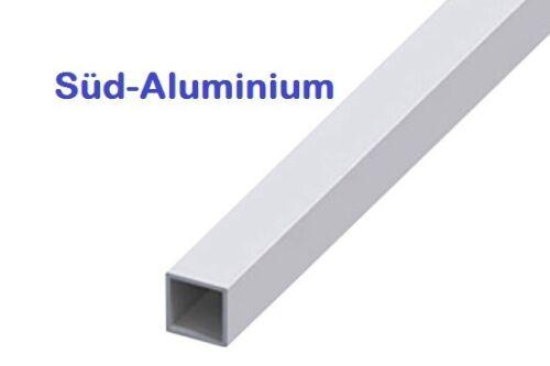 Alu quadratrohr aluminio cuadrado tubo cuatro cantos tubo perfil deseo de longitud