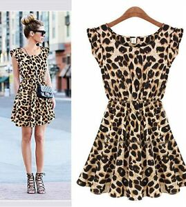 Women-Fashion-Sexy-Leopard-Casual-Evening-Cocktail-Party-Mini-Dress-Summer-Dress