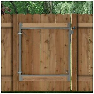 Outdoor Steel Fence Gate Frame Hardware Parts Repair