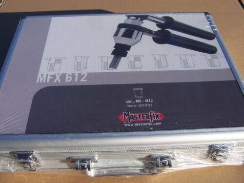 Nietmutternzange M6-M12 mit 140-tlg A2 Edelstahl Sortiment MFX612 Masterfix