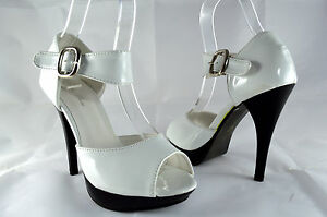 Senoras-Elegantes-Zapatos-De-Noche-Zapatos-De-Tacon-Peep-Toe-Tacones-Altos
