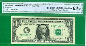 fw P-4. $1 2013 1 D//F BLOCK CLEVELAND CU