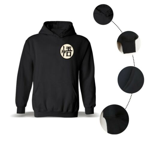 DragonBall Z Super Saiyan Training Goku Hoodie Pullover SweatShirt Coat Sweater