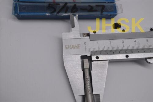 S 2pcs 5//16-27UNS HSS TAP Right helix Inch MACHINE TAP 5//16-27 US TAP