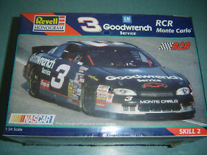 Details About Revell 3 Dale Earnhardt Goodwrench Monte Carlo 124 Scale Model Kit 85 2447 New