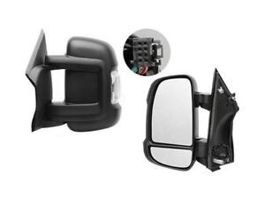 Peugeot Boxer Full Door Wing Mirror ELECTRIC HEATED Short Arm Right O//S 2006 On