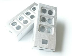 Aluminum-electrical-outlet-box-power-socket-chassis-outlet-Enclosure