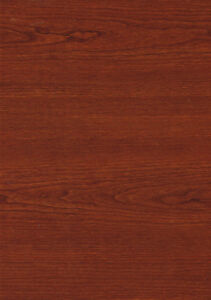Details About Red Mahogany Wood Grain Self Adhesive Vinyl Contact Paper Liner Peel Stick