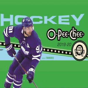 2019-20-O-pee-chee-OPC-hockey-U-Pick-From-List-TEAM-SETS-NO-ROOKIES-OR-SP-CARDS