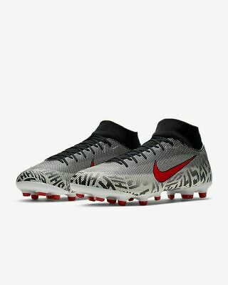 Consejo grado calibre  Nike Superfly 6 Academy NJR FG/MG Soccer Cleats Neymar White AO9466-170  Men's | eBay