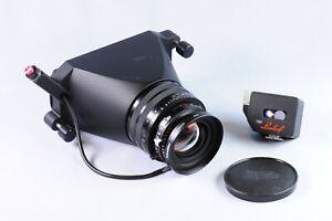 Linhof Technorama Schneider Apo-Symmar L 180mm f/5.6 MC Lens with Viewfinder