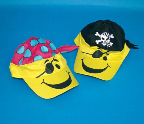 Parapluie Bonnet Pirate Cap Cappy Cappie Enfants Casquette 2er Set