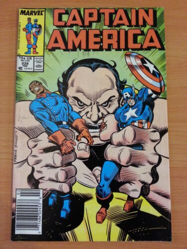 VERY FINE VF ~ 1988 MARVEL COMICS Captain America #338 ~ FINE