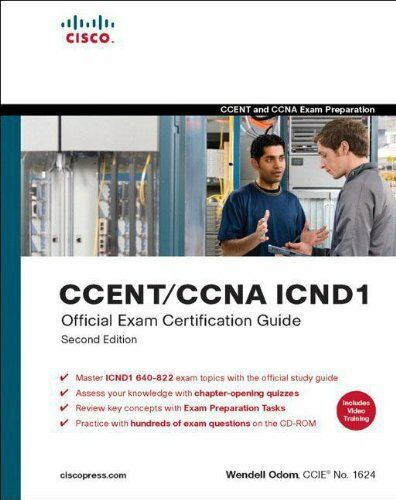 1 of 1 - CCENT/CCNA ICND1 Official Exam Certification Guide (CCENT Exam 640-822 and CCNA