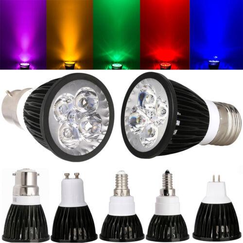 Bright Dimmable CREE MR16 GU10 E27 E14 MR16 B22 9W 12W 15W LED Spotlight Bulbs