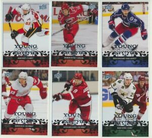 2008-09-Upper-Deck-Series-1-YOUNG-GUNS-Rookie-U-Pick-COMPLETE-YOUR-SETS