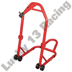 BikeTek-Front-head-stock-lift-stand-with-pin-for-Yamaha-FZR1000-1994-1995