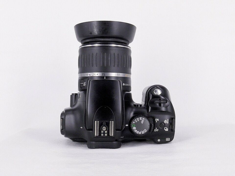 Canon, Eos 300D Digital, spejlrefleks