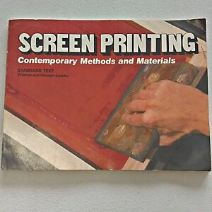 Charitable Screen Printing Contemporary Methods And Materials By Lassiter 1978 Sc For Sale Antiquarian & Collectible