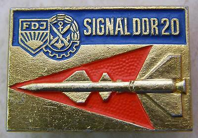 RVSN Ballistic Missile Troops Rocket Forces Vintage DDR East Germany Pin Badge