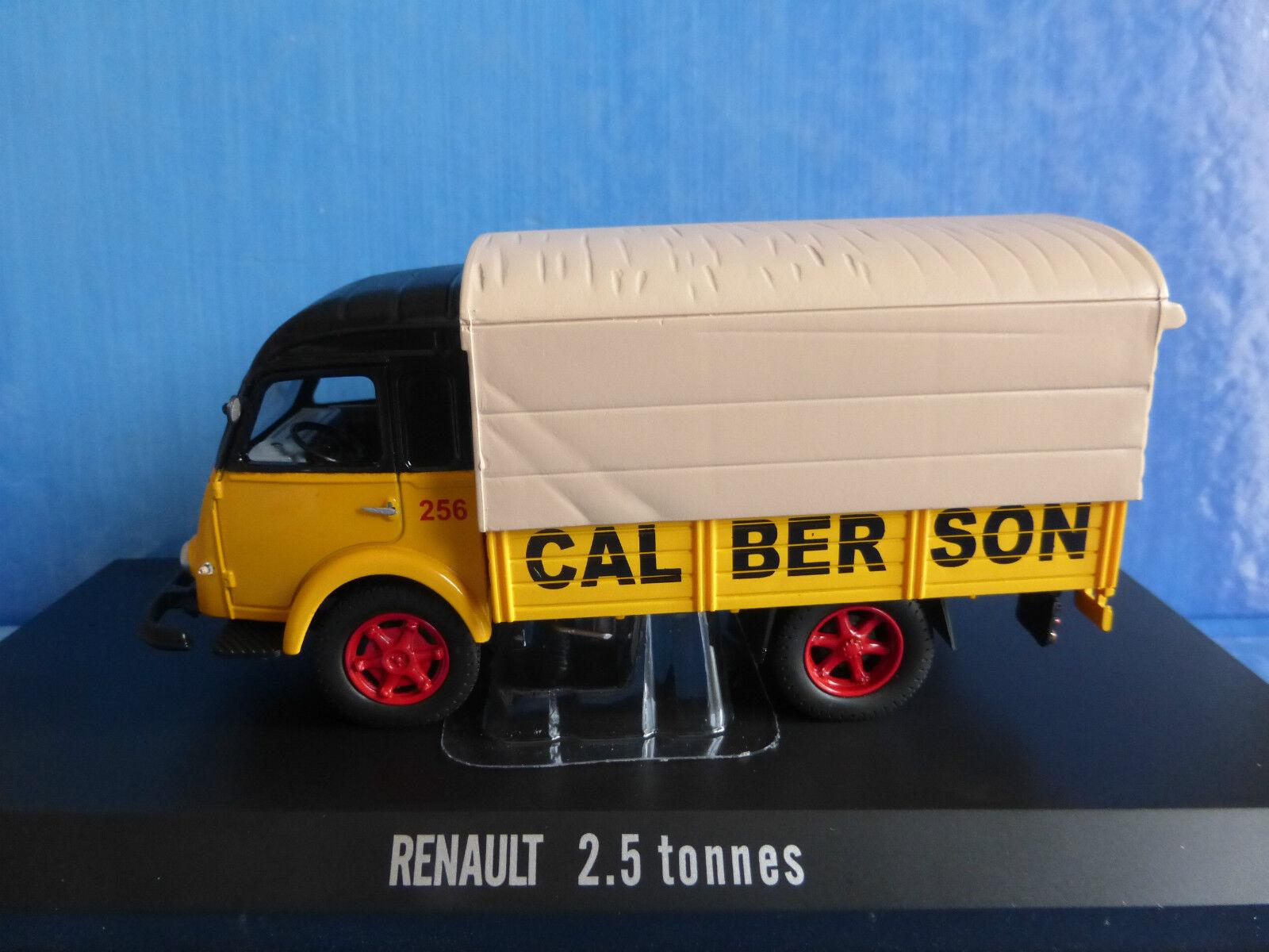 CAMION RENAULT GALION BACHE 2.5 TONNES TRANSPORT CALBERSON NOREV 518575