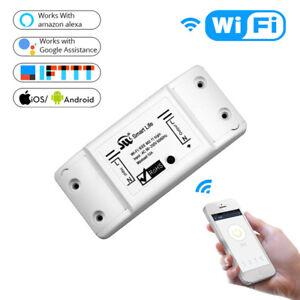 Interrupteur WiFi Smart Light Switch Universel pour Smart Life APP AlexaBGS