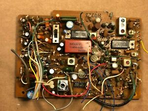Sony-STR-7065-AM-IF-MPX-Circuit-Board-H0718-Vintage-Receiver-Parts