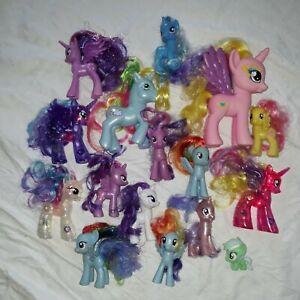 My Little Pony Mixed Lot  15  Various Years 3 light up unicorns pegasus